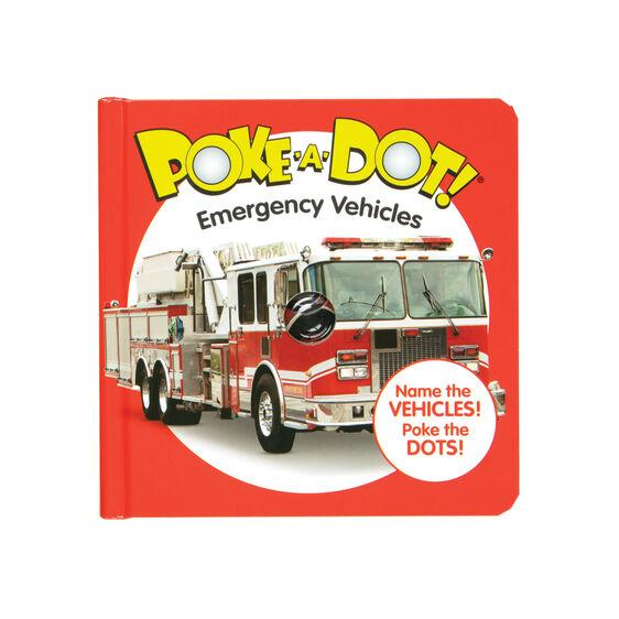 Melissa & Doug Poke-A-Dot Emergency Vehicles
