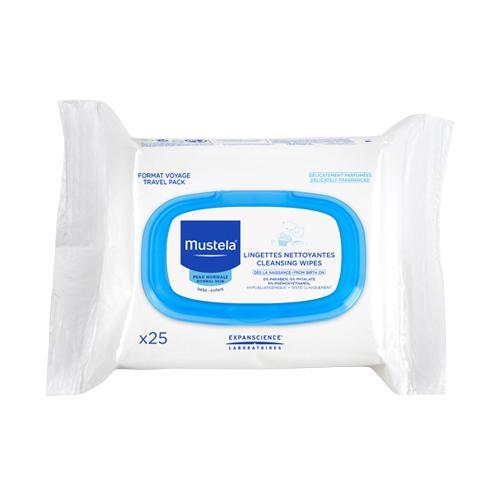 Mustela Cleansing Wipes - 25ct