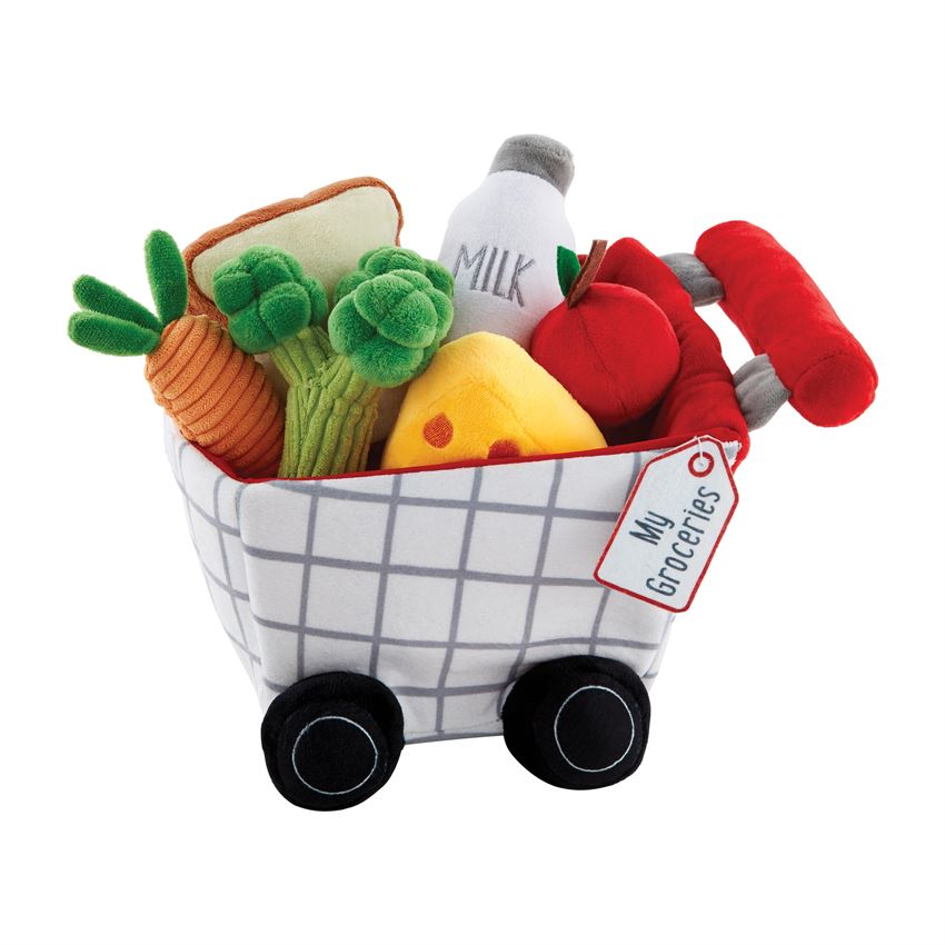 Mud Pie My Groceries Plush Set