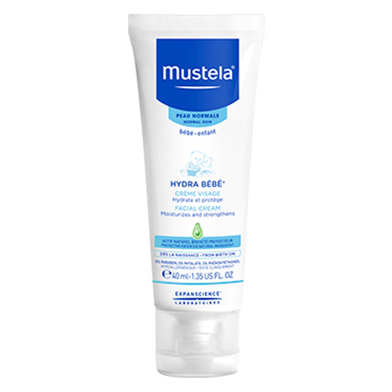 Mustela Hydra Bebe Facial Cream - 40ml