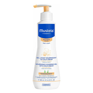 Mustela Nourishing Cleansing Gel w/Cold Cream - 300ml