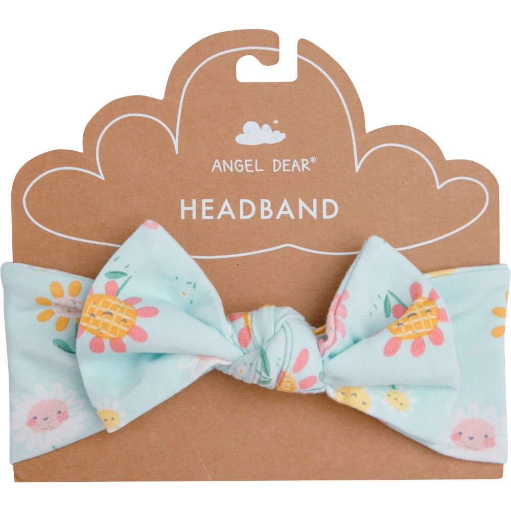 Angel Dear Hello Daisy Headband Blue