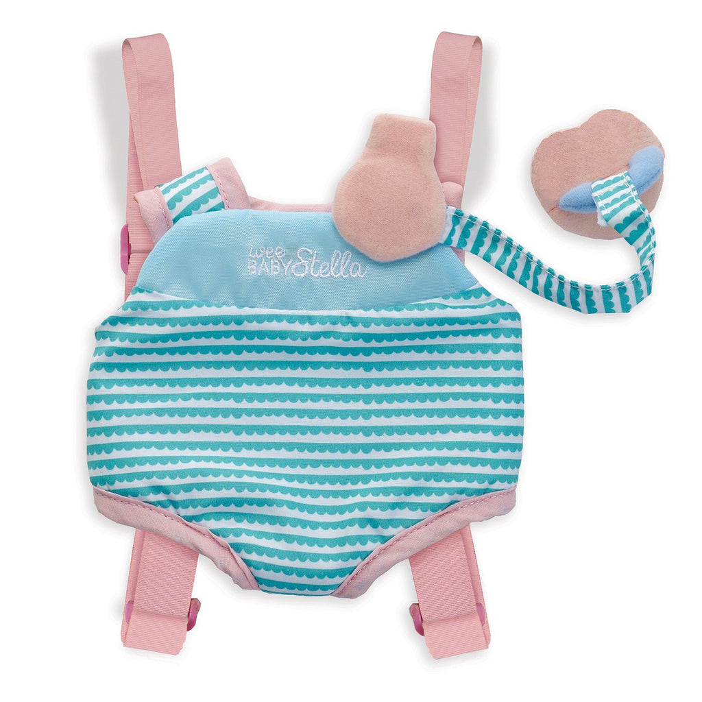 Manhattan Toy Company Wee Baby Stella Travel Time Carrier Set