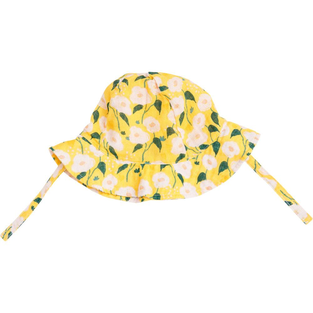 Angel Dear Golden Floral Sunhat Yellow