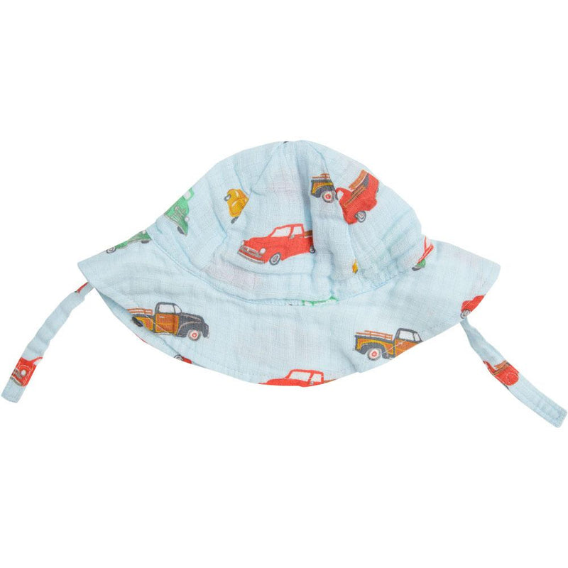Angel Dear Vintage Trucks  Sunhat Blue