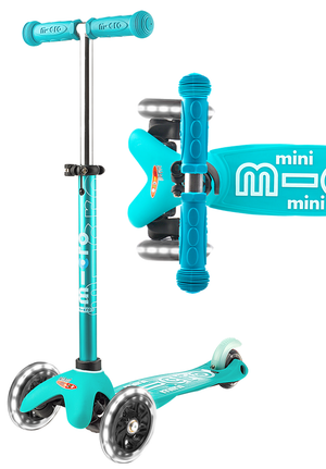 Micro Kickboard-Micro Mini Deluxe LED Ages 2-5