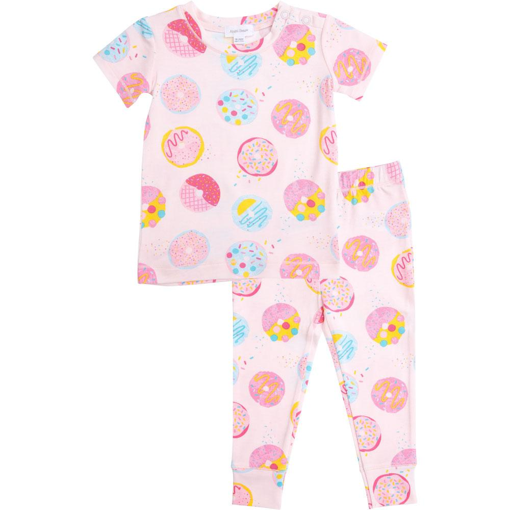 Angel Dear Donuts Lounge Wear Set Pink