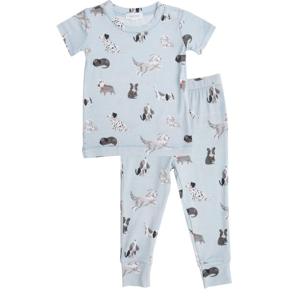 Angel Dear Grey Hounds Lounge Wear Set Grey