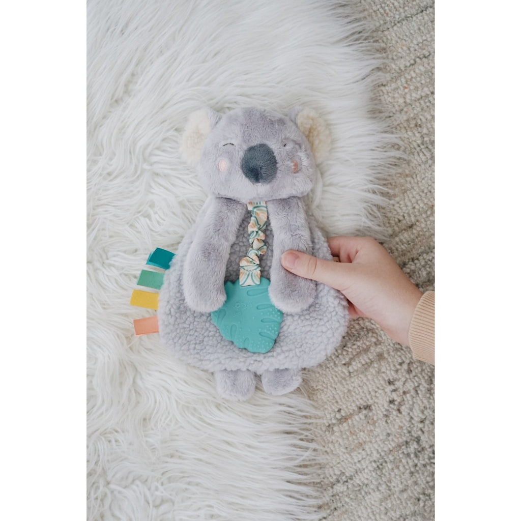 Itzy Ritzy Lovey Koala Plush w/ Silicone Teether Toy