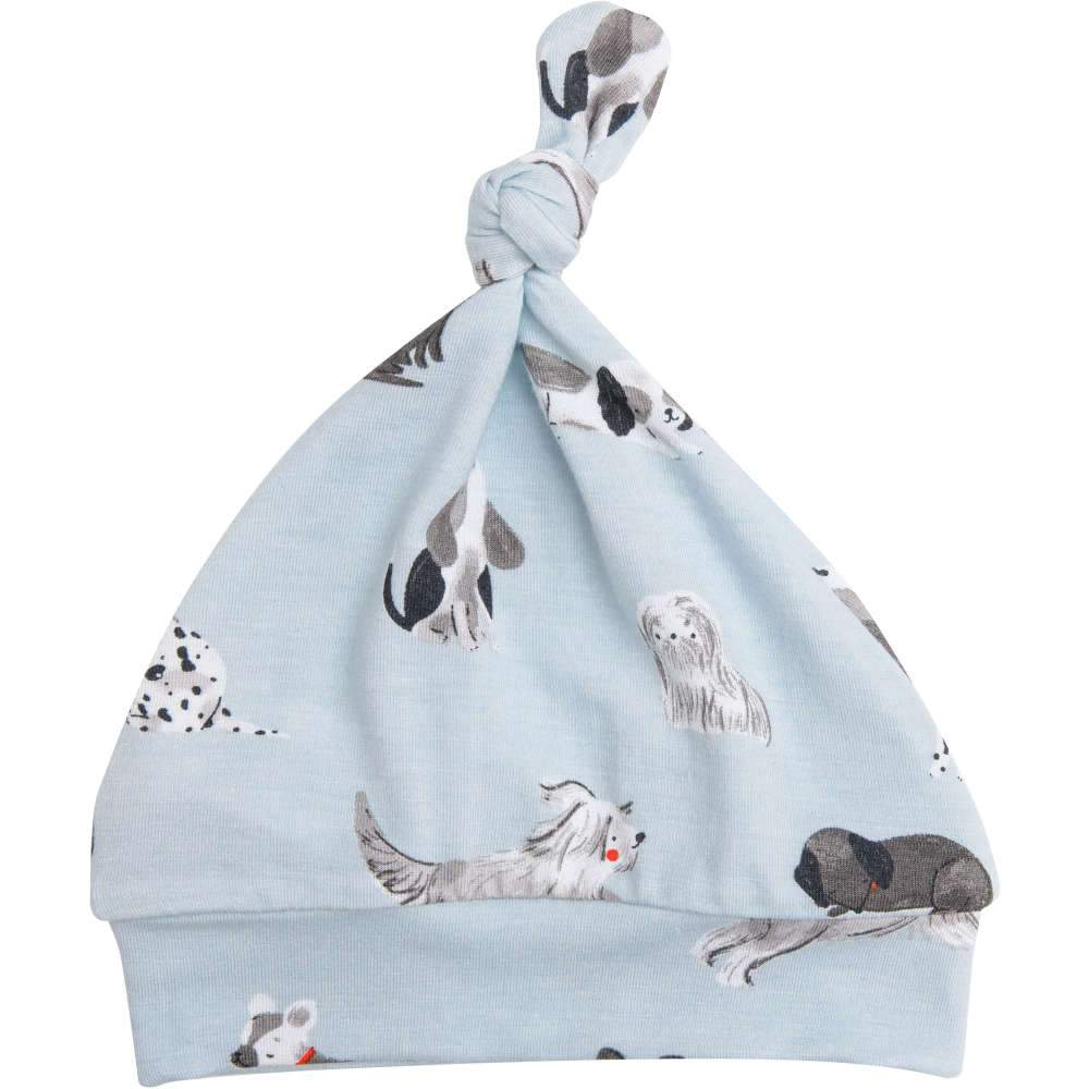 Angel Dear Grey Hounds Knotted Hat Grey