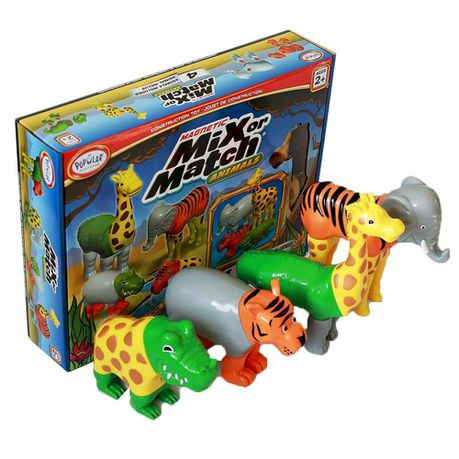 Popular Playthings Magnetic Mix Or Match Jungle