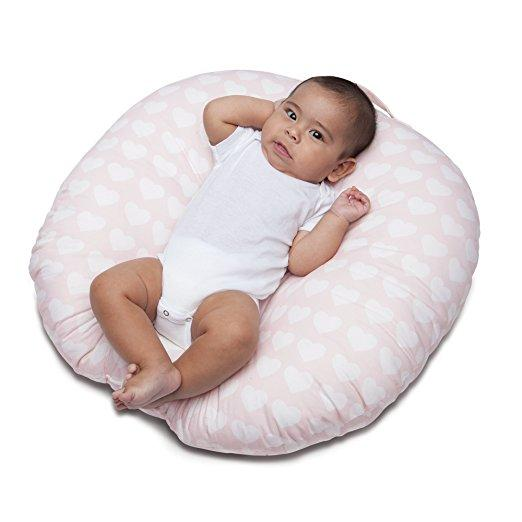 Boppy Newborn Lounger Pink Hearts