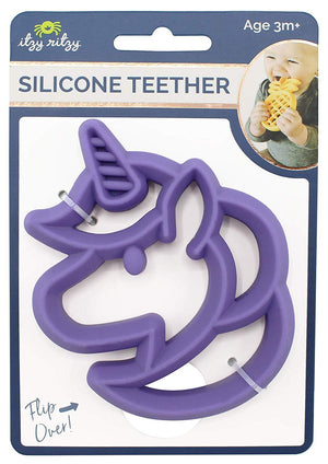 Itzy Ritzy Silicone Teether Unicorn