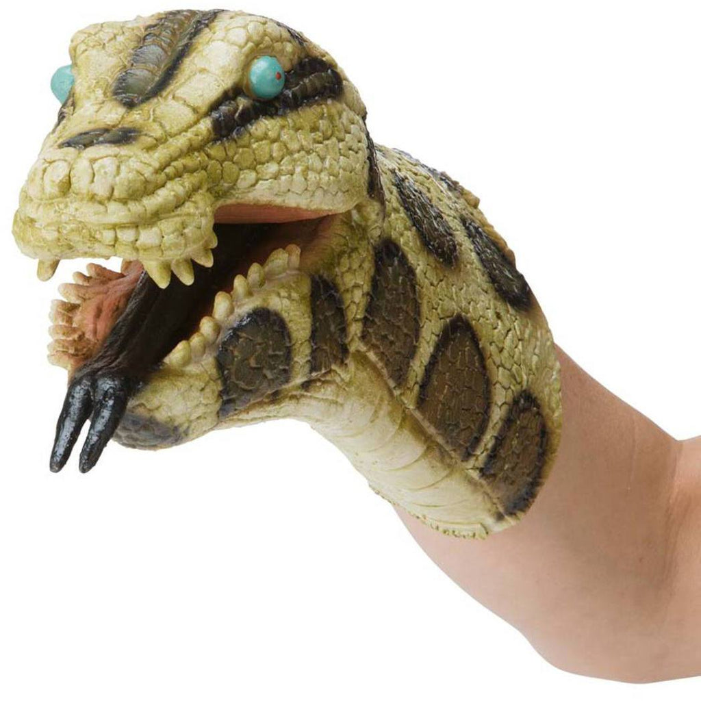 Hearthsong Reptile Hand Puppet - Python