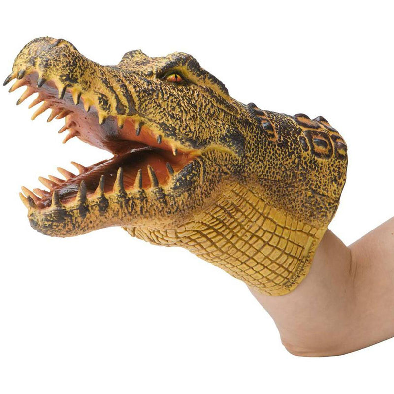 Hearthsong Reptile Hand Puppet - Crocodile