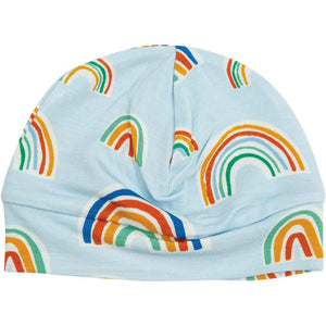 Angel Dear Rainbows Beanie Blue Multi