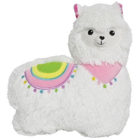 Iscream Mini Llama Bubblegum Scented Pillow