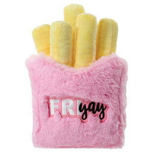 Iscream Friyay Fries 3D Furry Pillow