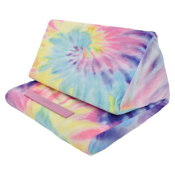 Iscream Pastel Tie Dye Tablet Pillow