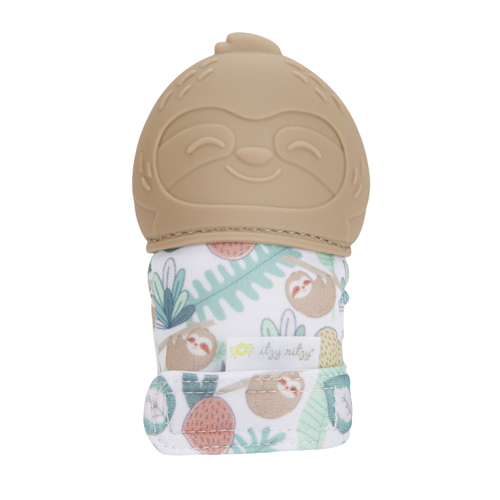 Itzy Ritzy Teething Mitt Sloth