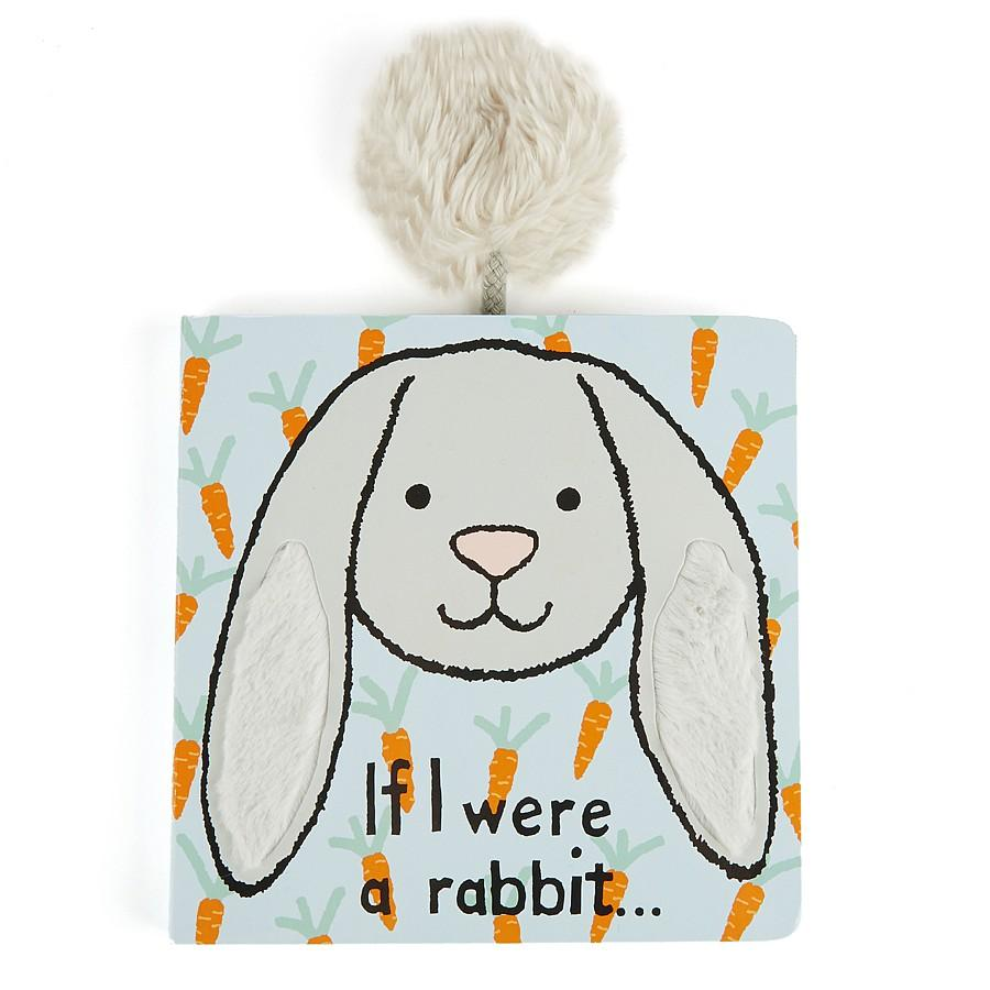 Jellycat If I Were A Rabbit Book (Grey)