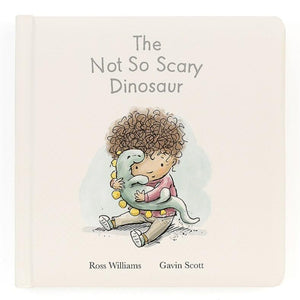 Jellycat The Not So Scary Dinosaur Book