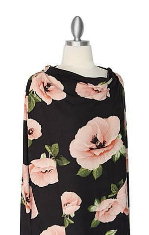 Covered Goods 4-in-1 Nursing Cover Poppies