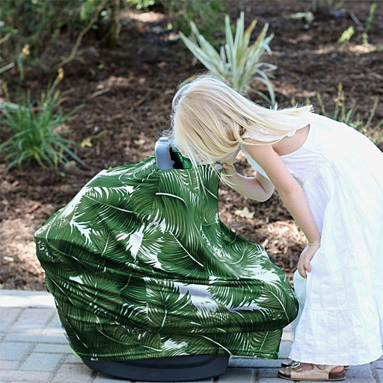 Covered Goods 4-in-1 Nursing Cover Palm