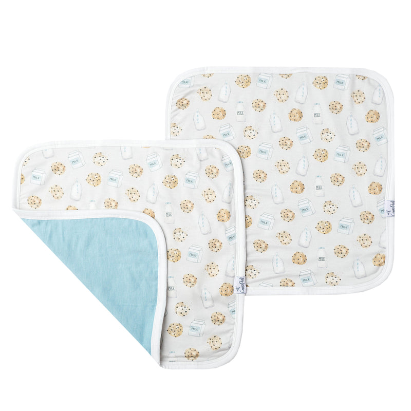 Copper Pearl Three-Layer Security Blanket Set - Chip