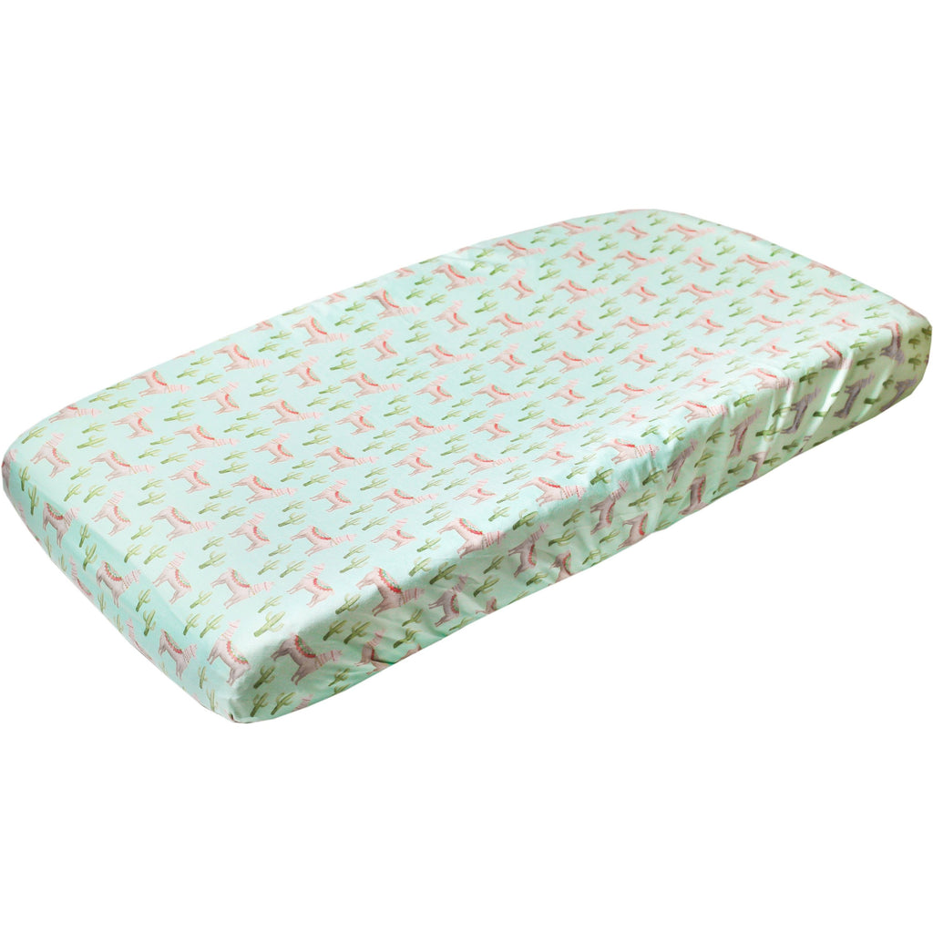 Copper Pearl Premium Knit Diaper Changing Pad Cover | Cusco