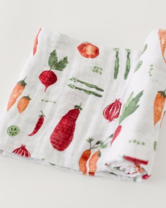 Little Unicorn Cotton Swaddle - Farmers Market