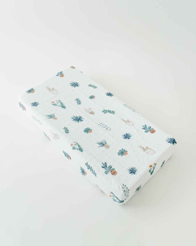 Little Unicorn Cotton Changing Pad Cover - Prickle Pots