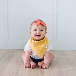 Copper Pearl Baby Bandana Bibs - Hope
