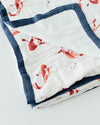 Little Unicorn Deluxe Muslin Quilt - Fish Pond