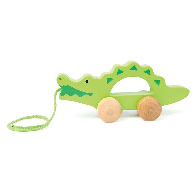 Hape Push & Pull Crocodile