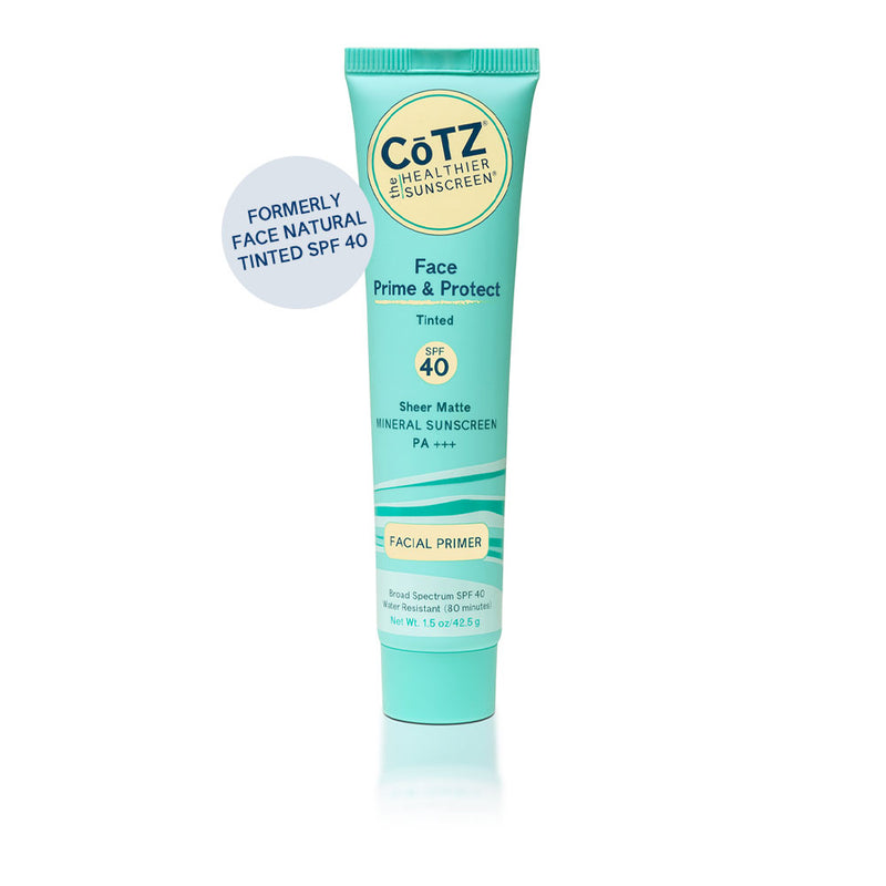 CoTZ Face Prime & Protect SPF-40 Tinted