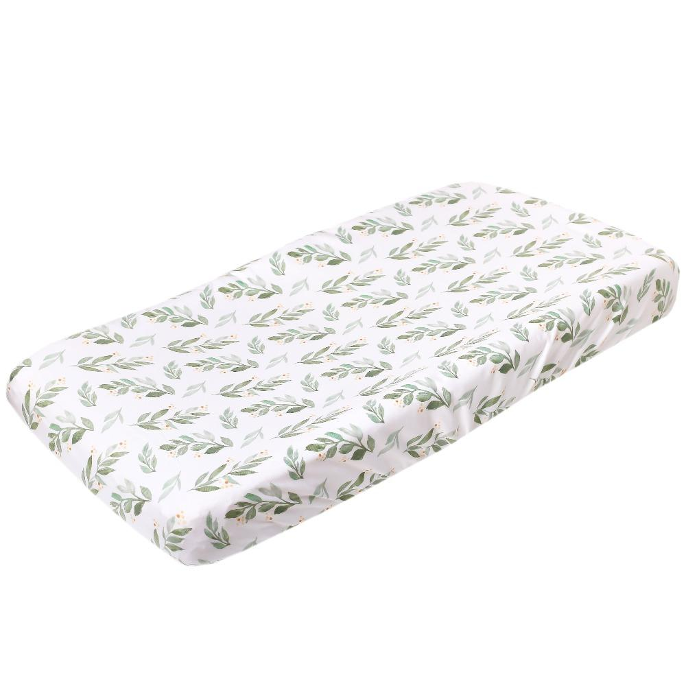 Copper Pearl Premium Knit Diaper Changing Pad Cover | Fern