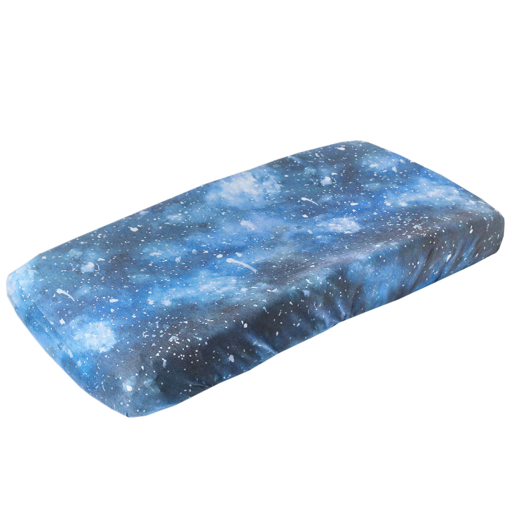 Copper Pearl Premium Diaper Changing Pad Cover - Galaxy