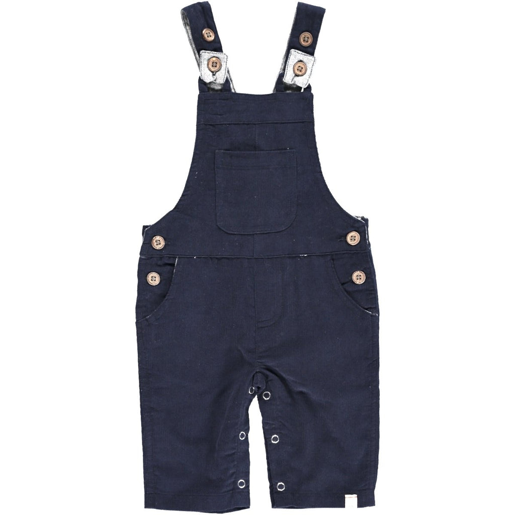 Me & Henry Navy Cord Overalls