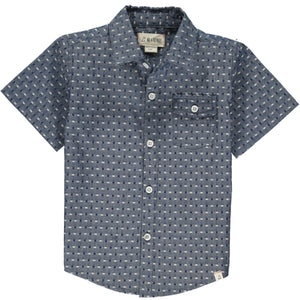 Me & Henry Newport Short Sleeved Shirt | Chambray