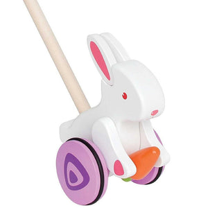 Hape Push Toy Bunny
