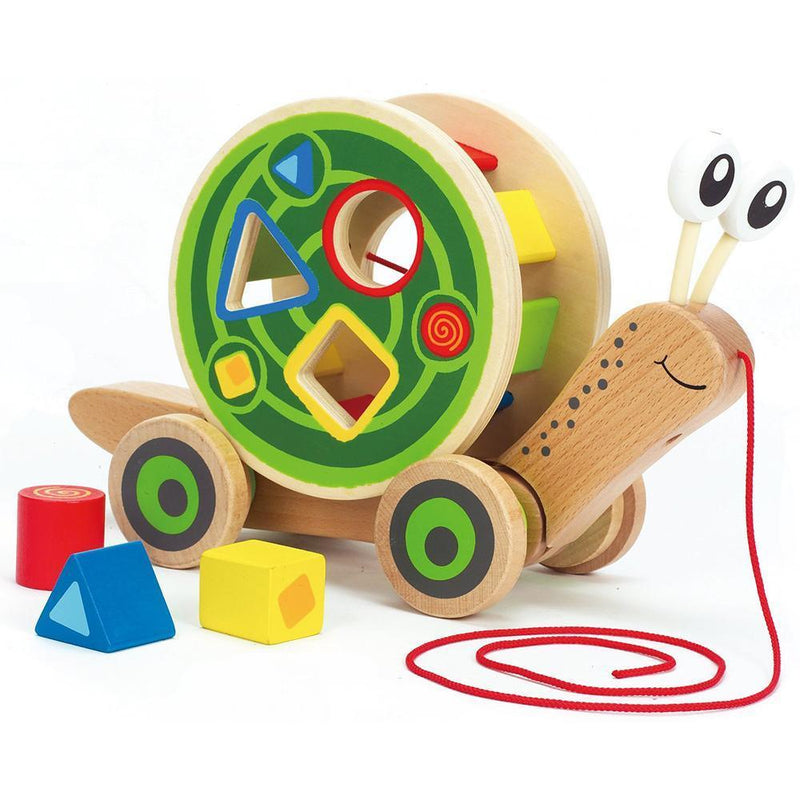 Hape Walk-Along Snail Shape Sorter