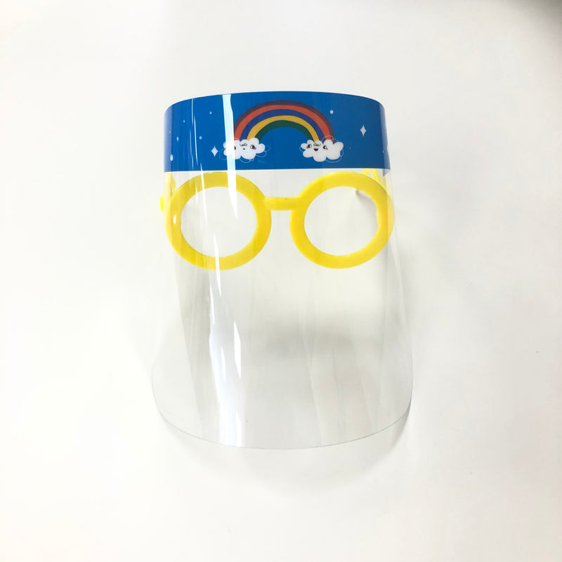 Toddler Face Shield-Rainbow