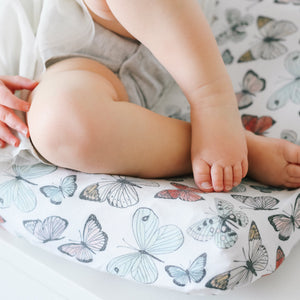 Copper Pearl Premium Diaper Changing Pad Cover - Dot