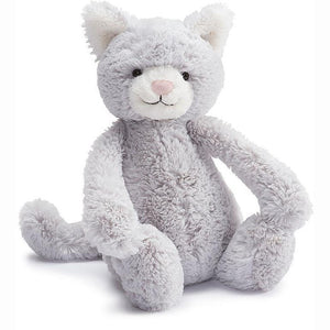 Jellycat Bashful Grey Kitty