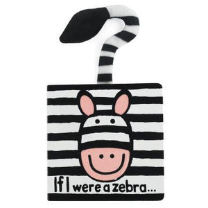 Jellycat If I Were a Zebra Book