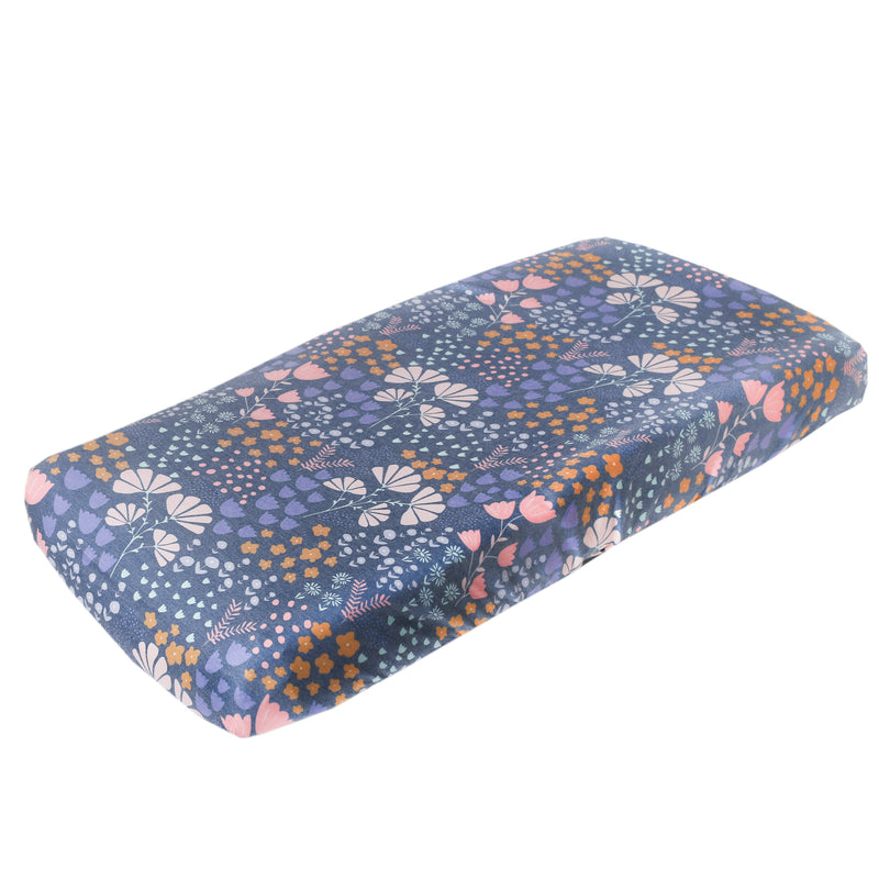 Copper Pearl Premium Diaper Changing Pad Cover - Meadow
