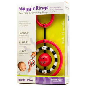 NogginRings Reaching & Grasping Toy