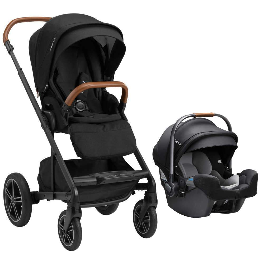Nuna Mixx Next Stroller with MagneTech Secure Snap + Pipa RX Travel System