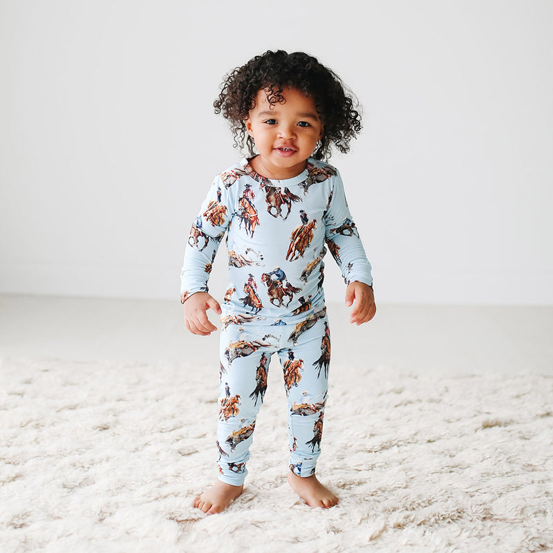 Posh Peanut Brody Long Sleeve Basic Pajamas